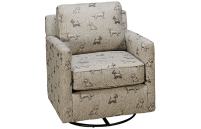 Fusion Furniture Bailey Swivel Glider