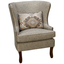 Klaussner Home Furnishings Langley Accent Chair
