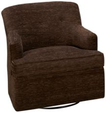 Klaussner Home Furnishings Elizabeth Accent Swivel Rocker