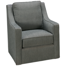 Kincaid Custom Accent Swivel Glider Chair