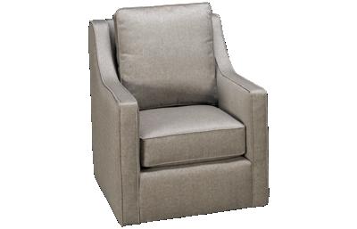 Kincaid Custom Accent Swivel Glider Chair