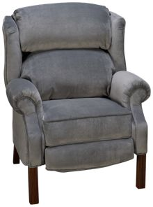 Klaussner Home Furnishings Ginger Accent Push Back Recliner