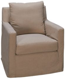 Synergy Equinox Accent Swivel Glider with Slipcover