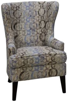 Jonathan Louis Olivia Accent Wing Chair