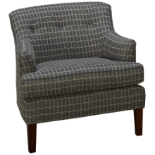 Klaussner Home Furnishings Regan Accent Chair