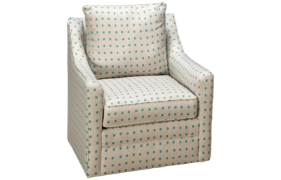 Klaussner Home Furnishings Atlanta Accent Swivel Chair