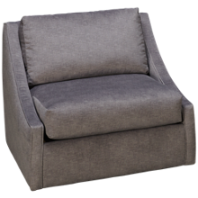 Klaussner Home Furnishings Milo Accent Swivel Chair