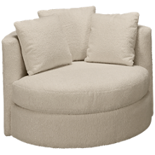 Jonathan Louis Lombardy Accent Swivel Chair