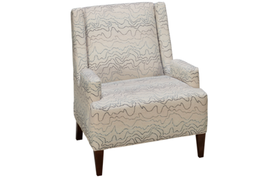 Klaussner Home Furnishings Cutler Accent Chair