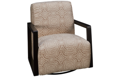 Kuka Pebble Beach Accent Swivel Chair