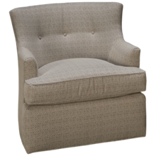 Huntington House Plush Accent Swivel Chair