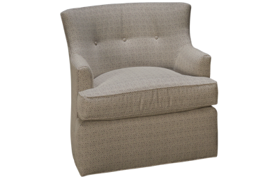 Huntington House Plush Accent Swivel Chair