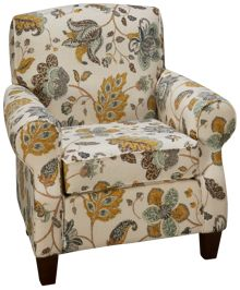 Klaussner Home Furnishings Wyatt Accent Chair