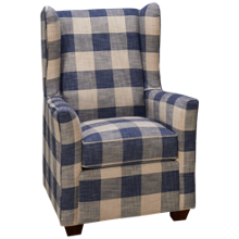 Klaussner Home Furnishings Huntley Accent Chair