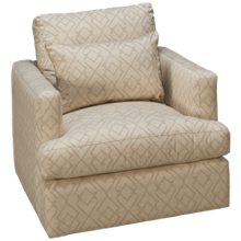 Craftmaster CM Modern Swivel Chair