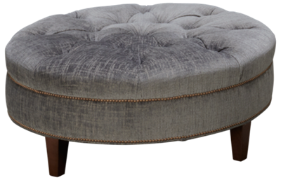 Huntington House Solutions 2 Accent Round Ottoman