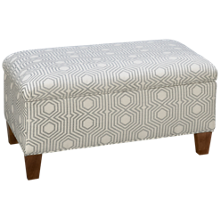 Rowe Hess Accent Storage Ottoman