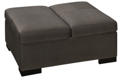 Jonathan Louis Crosby Accent Storage Ottoman