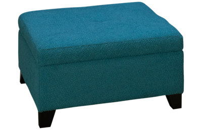 Jonathan Louis Choices Accent Storage Ottoman with Pillows