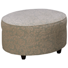 Kincaid Custom Round Accent Ottoman