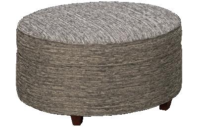 Kincaid Custom Round Accent Ottoman