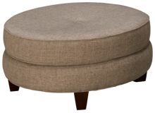 Klaussner Home Furnishings Clanton Accent Ottoman