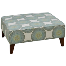 Klaussner Home Furnishings Harlow Accent Ottoman