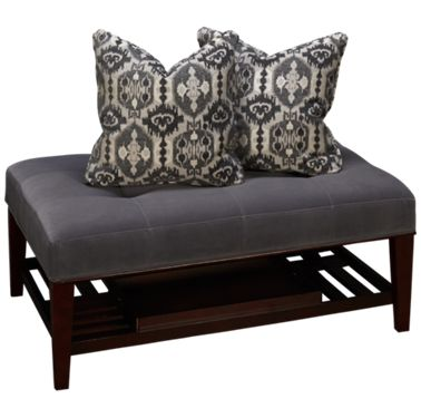 Fine Bauhaus Select Cocktail Ottoman With Tray And 2 Pillows Cjindustries Chair Design For Home Cjindustriesco