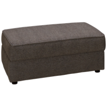 Bauhaus Bauh Simple Accent Storage Ottoman with Toss Pillows