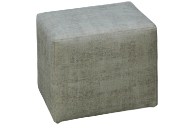 Klaussner Home Furnishings Milo Accent Cube Ottoman