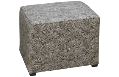 Huntington House Plush Accent Cube Ottoman
