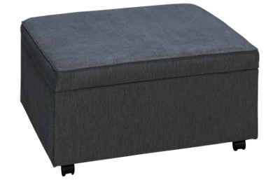 Klaussner Home Furnishings Cora Accent Storage Cocktail Ottoman with Toss Pillows