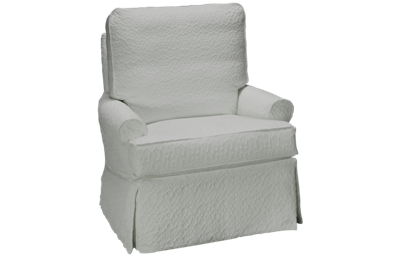 Four Seasons Daniel Swivel Glider with Slipcover