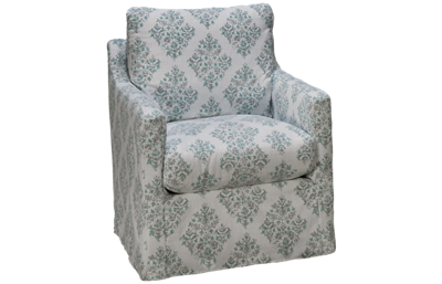 Four Seasons Ryane Swivel Glider with Slipcover