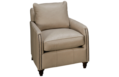 Rowe Hayes Leather Accent Chair