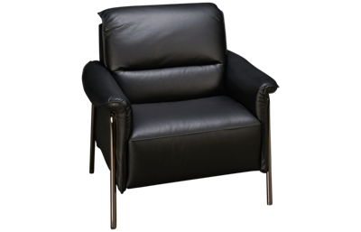 Natuzzi Editions Amabile Leather Accent Chair