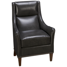 Huntington House Plush Leather Accent Chair