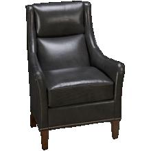 Huntington House Plush Leather Accent Chair