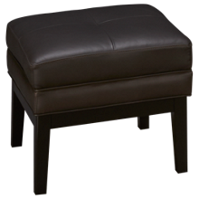 Jonathan Louis Choices Leather Accent Cube Ottoman