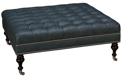 Huntington House Solutions 4 Leather Accent Ottoman