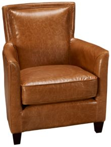 Futura Scout Leather Accent Chair