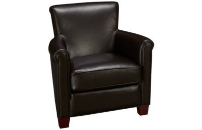 Futura Kobie Leather Accent Chair