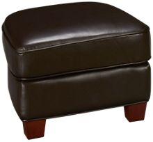 Futura Kobie Leather Storage Ottoman