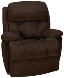 Klaussner Home Furnishings Gwynn Power Rocker Recliner with Power Headrest