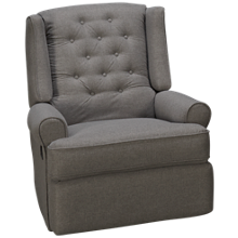 Klaussner Home Furnishings Benjamin Power Rocker Recliner