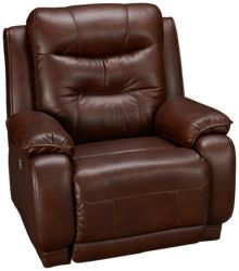 Southern Motion Cresent Power Wall Recliner with Power Tilt Headrest