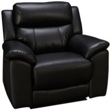 HTL Furniture Aurora Power Recliner With Power Tilt Headrest
