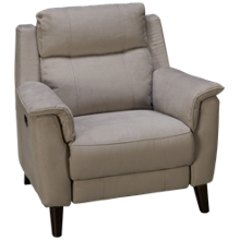 HTL Furniture Savannah Power Recliner with Tilt Headrest
