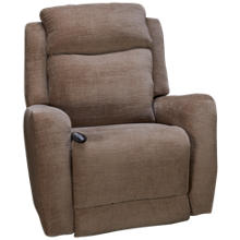 Southern Motion View Point Power Rocker Recliner with Power Headrest, Heat, Massage and Lumbar