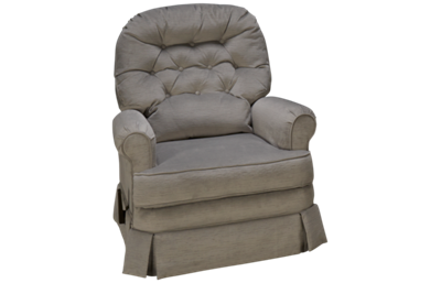 Klaussner Home Furnishings Ferdinand Swivel Glider Recliner